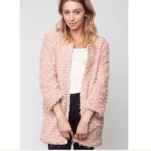 Brandy fluffy jacket